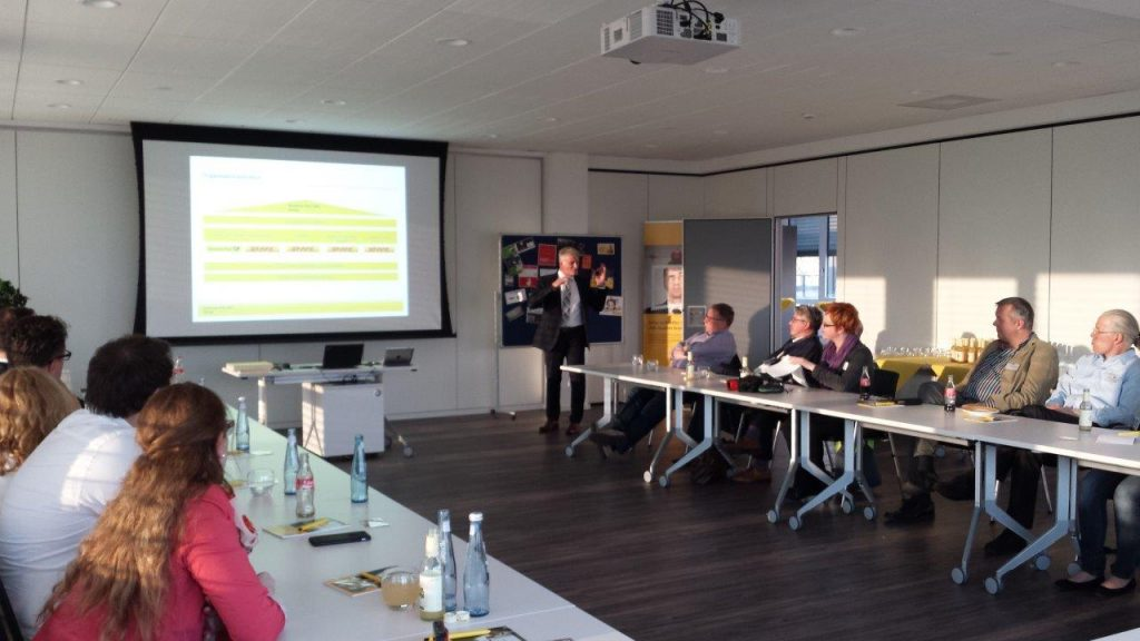 Clubabend beim Deutsche Post Direkt Marketing Center Oberhausen