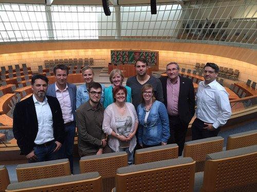 Sommerevent Führung durch den Düsseldorfer Landtag