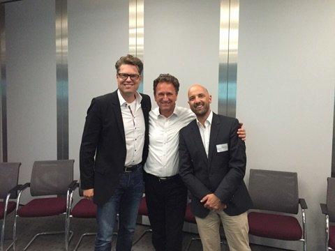 v.l.: Hans Piechatzek, Oliver Klein, Markus Pließnig