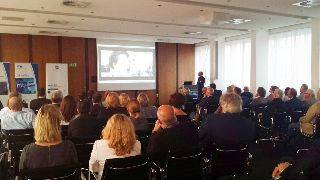 Vortrag von Axel Biermann Ruhr Tourismus GmbH