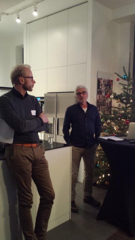 Norbert Lamb und Gero Behrends
