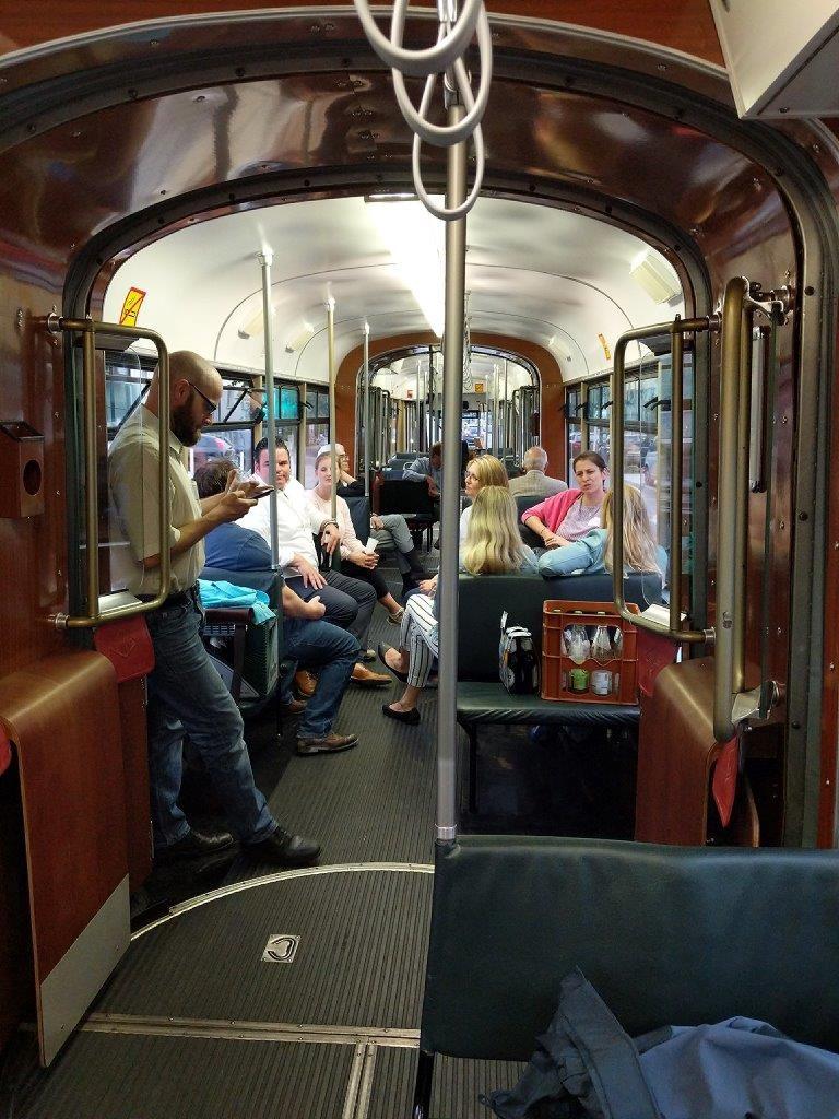 Fahrt mit der Ruhrbahn