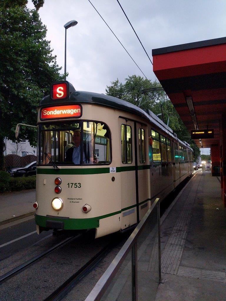 Unterwegs mit der Historische Straßenbahn der Ruhrbahn