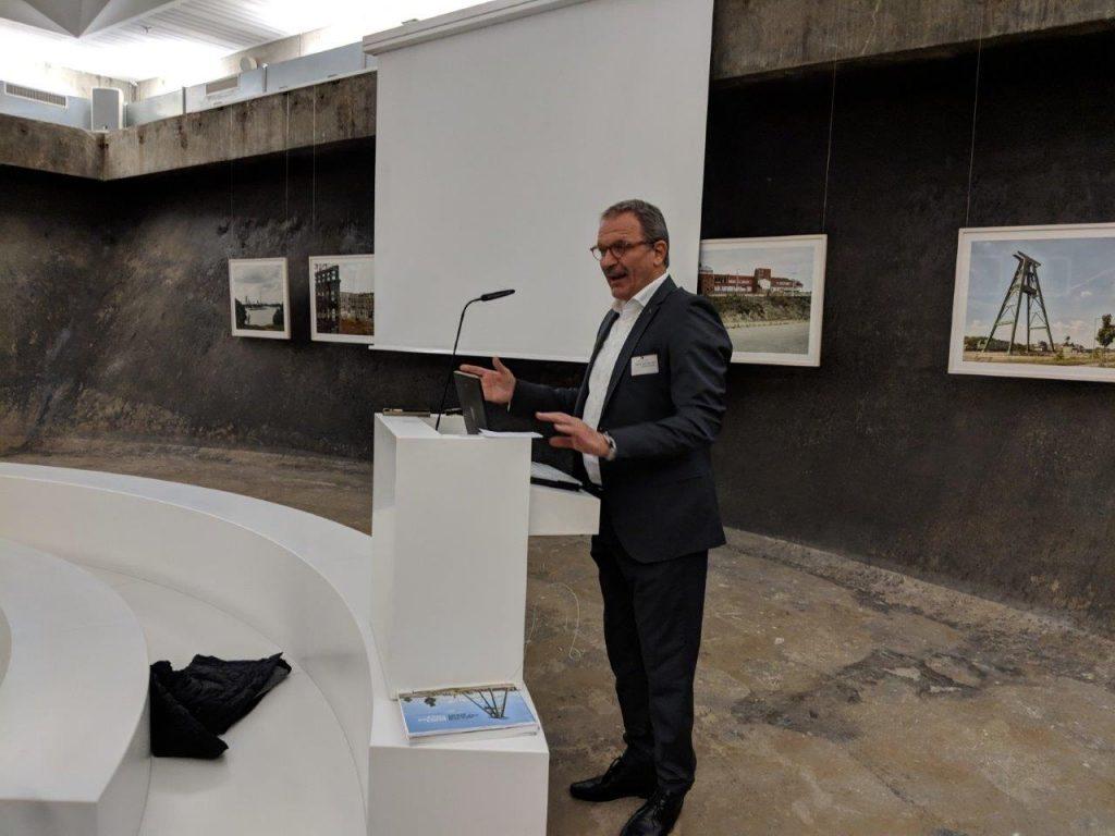 Prof. Dr. Hans-Peter Noll, Vorstandsvorsitzender der Stiftung Zollverein