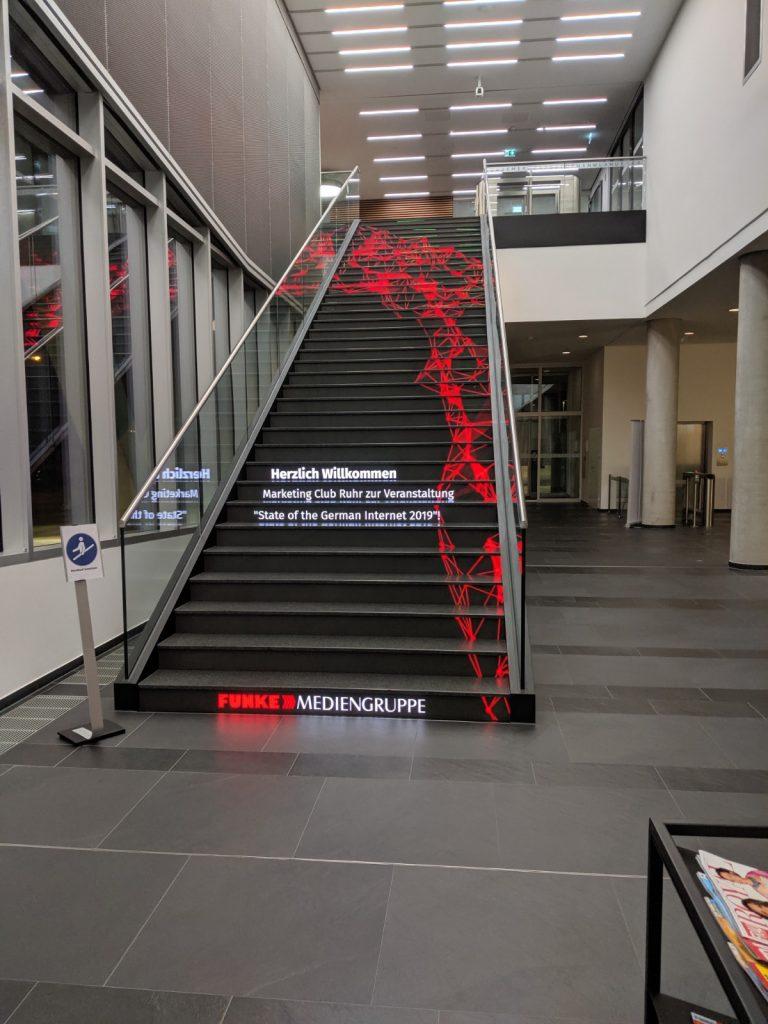 MC Ruhr zu Gast im neuen FUNNKE Medienhaus