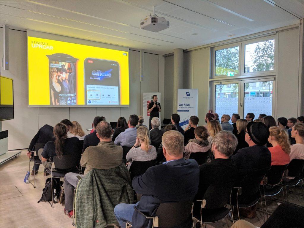 Vortrag von OMR Gründer Philipp Westermeyer