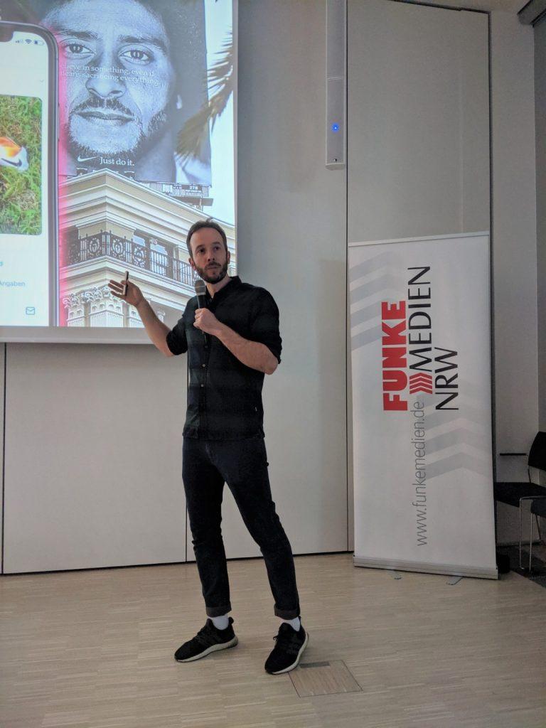 Vortrag des Digitalexperte Philipp Westermeyer