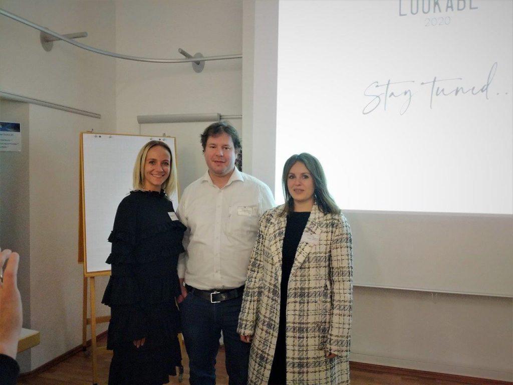 Die Gründerin Melanie Ilic, Mariana Ilic und C. Scherschel